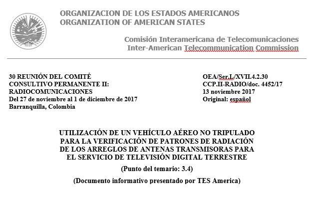 Medición de patrón de radiación - Recomendaciones ITU